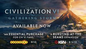 Sid Meier's Civilization VI: Gathering Storm Free Download