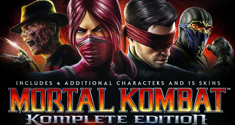 Mortal Kombat Komplete Edition v1.06 free download