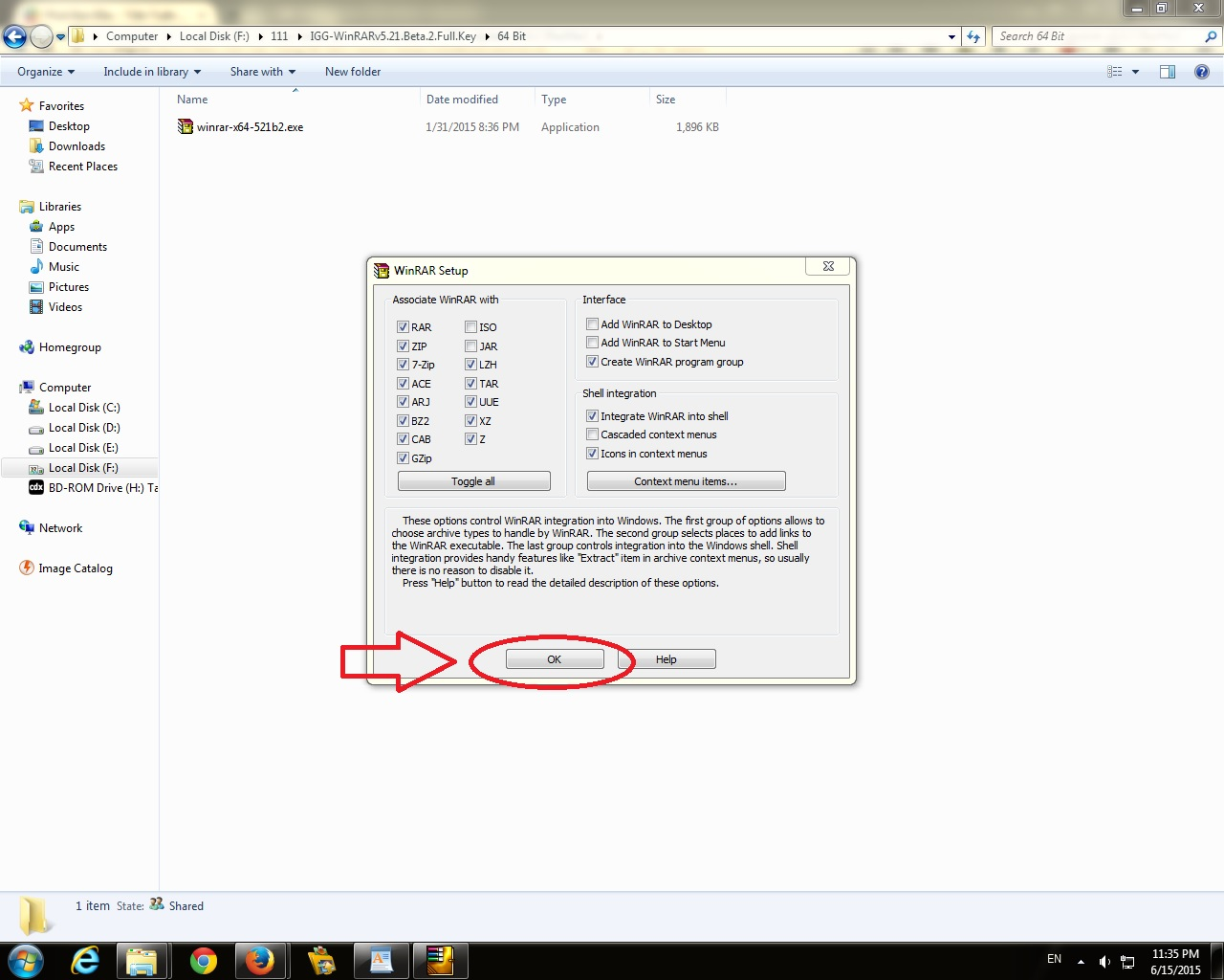 how to download optifine with winrar