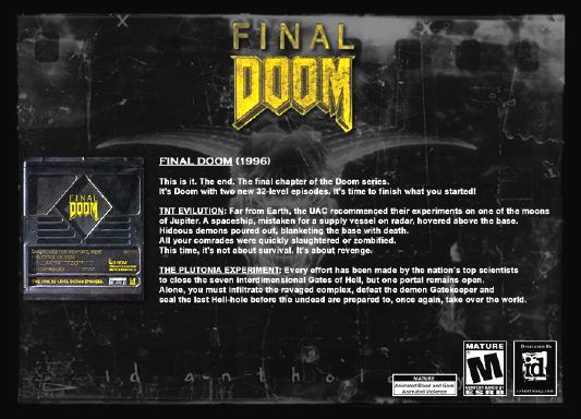Final DOOM - Download Game PC Iso New Free