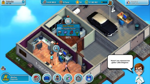 Mad Games Tycoon (v0.160915A) Free Download