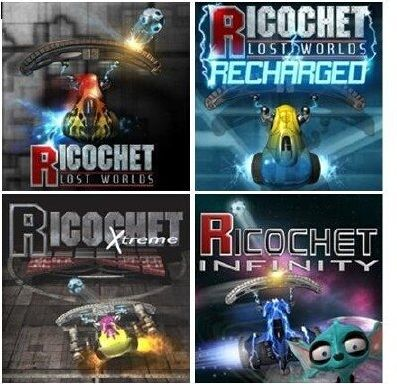Ricochet (Inclu Xtreme, Lost Worlds, Recharged, Infinity) Free Download