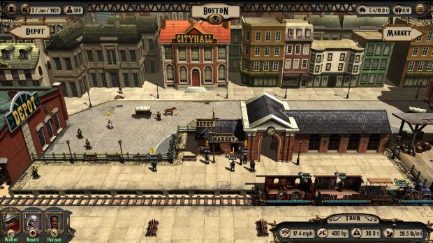 Bounty Train (v0.7608) Free Download