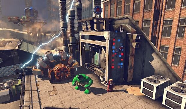 LEGO MARVEL Super Heroes PC Crack