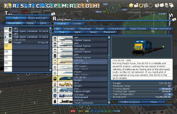 A-Train 9 V3.0 : Railway Simulator Free Download