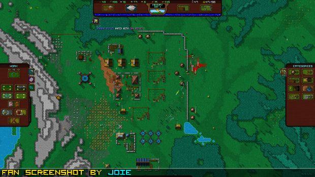Rise to ruins / retro-pixel castles: the godlike village simulator.