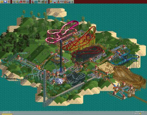 rollercoaster tycoon online