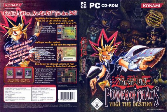 yugioh power of chaos yugi the destiny download with all cards