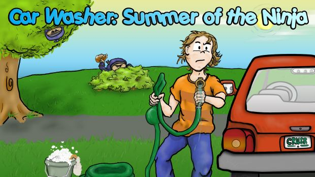 Car Washer: Summer of the Ninja Free Download