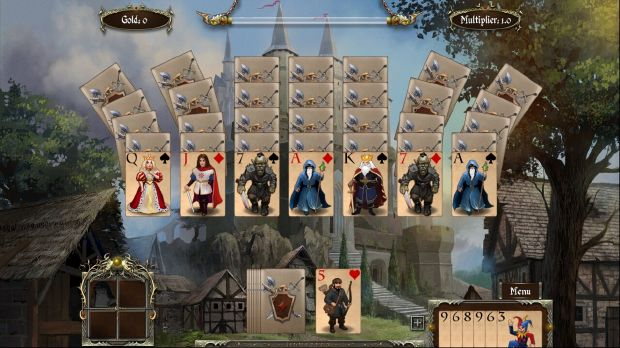 Legends of Solitaire: Curse of the Dragons Torrent Download