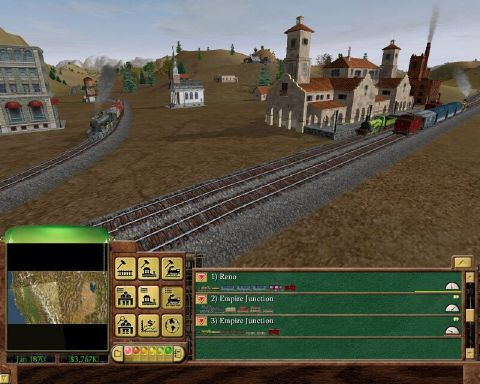 Railroad Tycoon 3 PC Crack