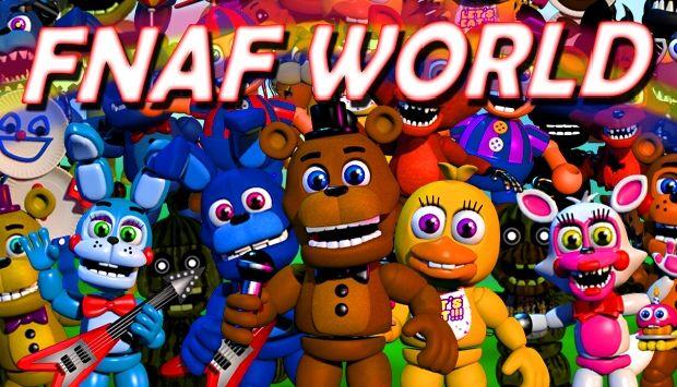 Fnaf world free download v1 24 igggames