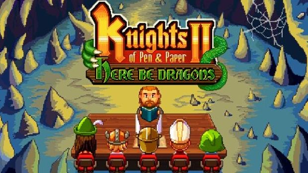 Knights of Pen and Paper 2 Here Be Dragons Free Download