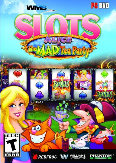 WMS Slots: Alice & The Mad Tea Party Free Download