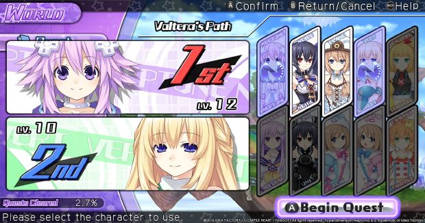 Hyperdimension Neptunia U: Action Unleashed (Inclu ALL DLC) Free Download