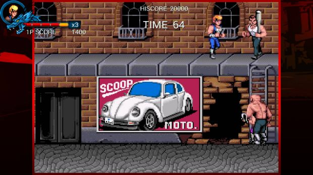 Double Dragon Trilogy PC Crack