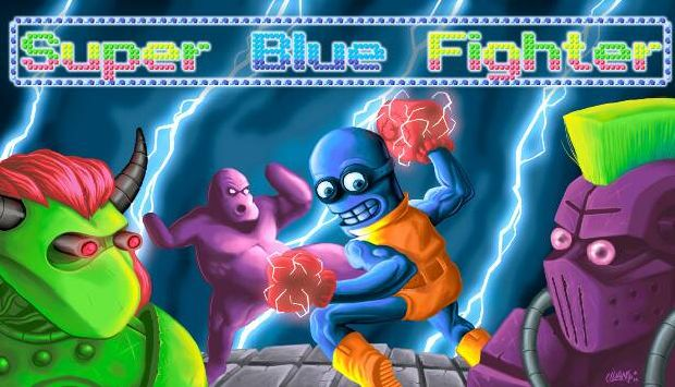Super Blue Fighter Free Download