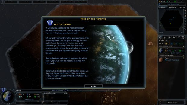 Galactic Civilizations III - Rise of the Terrans Torrent Download