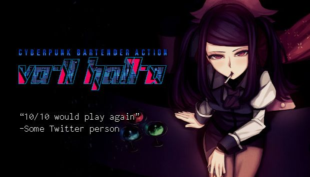 VA-11 Hall-A: Cyberpunk Bartender Action Free Download