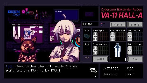 VA-11 Hall-A: Cyberpunk Bartender Action PC Crack