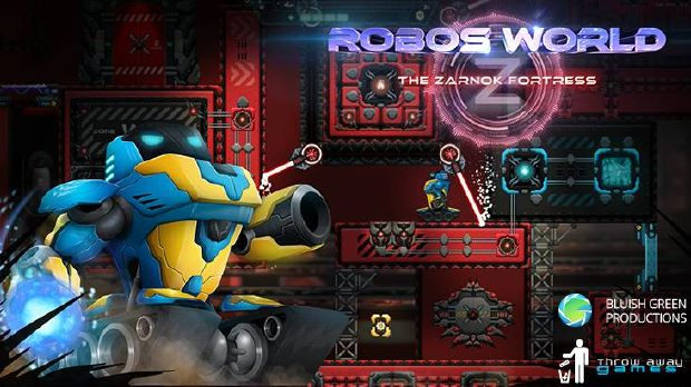 Robo's World: The Zarnok Fortress Free Download