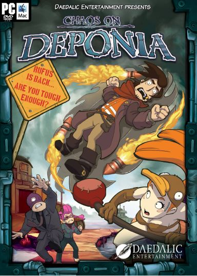 Chaos on Deponia Free Download