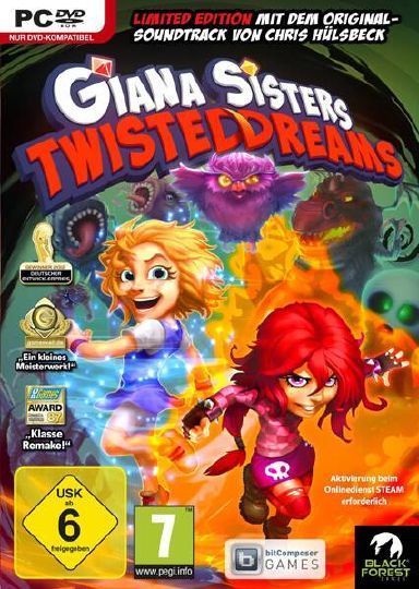Giana Sisters: Twisted Dreams - Rise of the Owlverlord Free Download