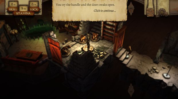 The Warlock of Firetop Mountain PC Crack