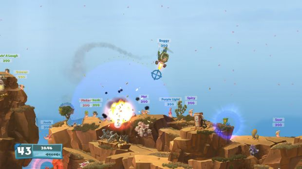 Worms W.M.D PC Crack