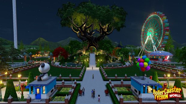 RollerCoaster Tycoon World PC Crack