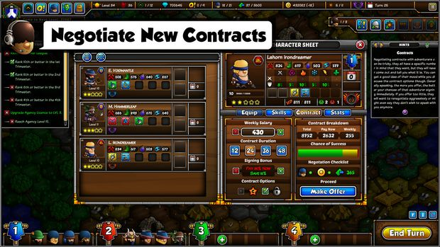 Epic Manager - Create Your Own Adventuring Agency! PC Crack