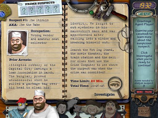 Mystery Case Files: Prime Suspects Free Download