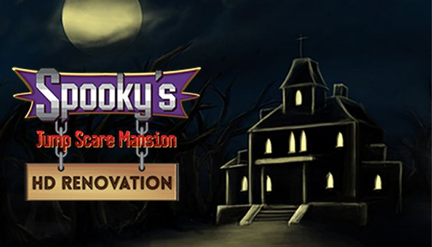 Spooky's Jump Scare Mansion: HD Renovation Free Download