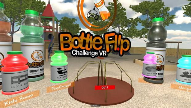 Bottle Flip Challenge VR PC Crack