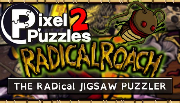 Pixel Puzzles 2: RADical ROACH Free Download