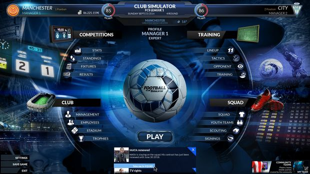 Football Club Simulator - FCS Torrent Download