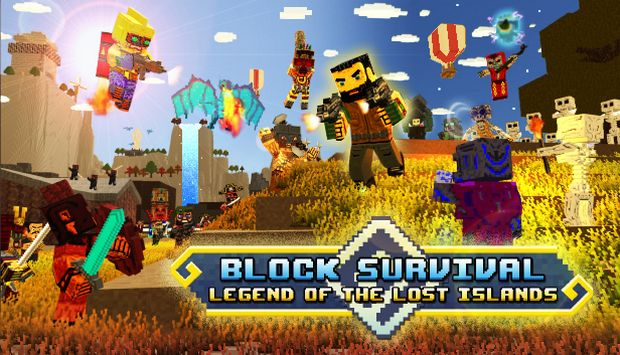 Block Survival: Legend of the Lost Islands Free Download