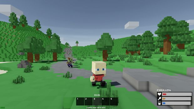 minecraft crafting dead maps download