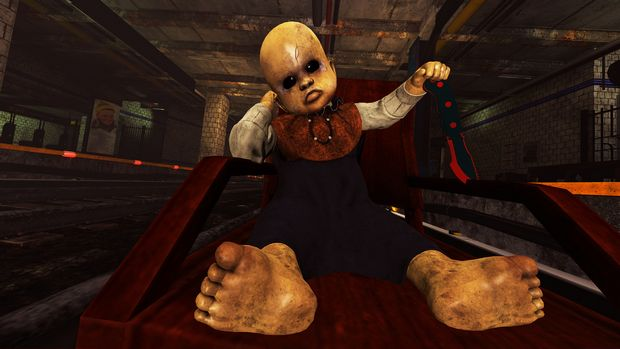 DEATH TRAIN - Warning: Unsafe VR Experience Torrent Download