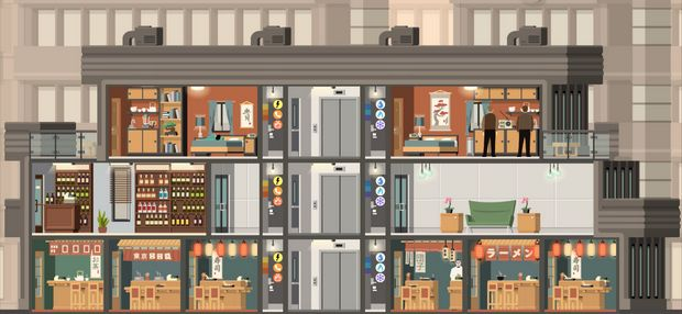 Project Highrise: Tokyo Towers Torrent Download