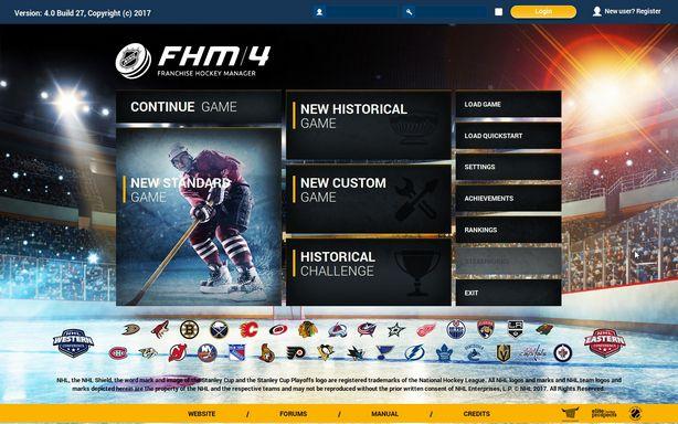 Franchise Hockey Manager 4 Torrent Download