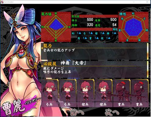 Legend of Fainn Dynasty Battles of Beautiful Warlords PC Crack