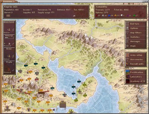 Dominions 3: The Awakening PC Crack