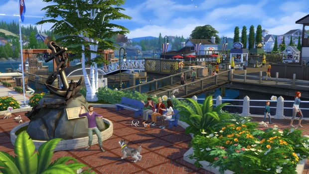 The Sims 4 Cats & Dogs PC Crack
