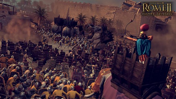 Total War: ROME II Empire Divided PC Crack