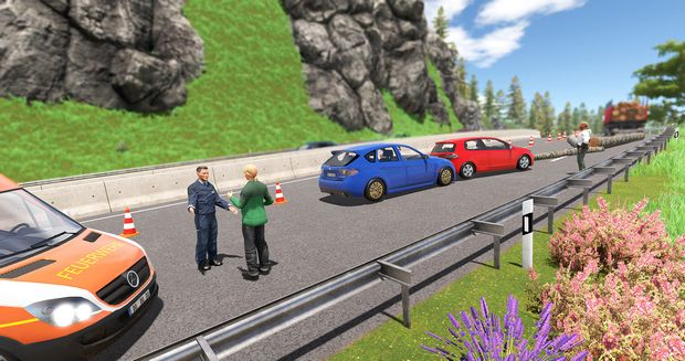Simulateur de police Autobahn 2 PC Crack