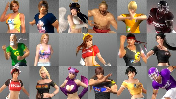 DEAD OR ALIVE 5 Last Round: Core Fighters Torrent Download