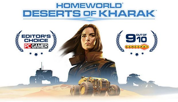 Homeworld: Deserts of Kharak Free Download