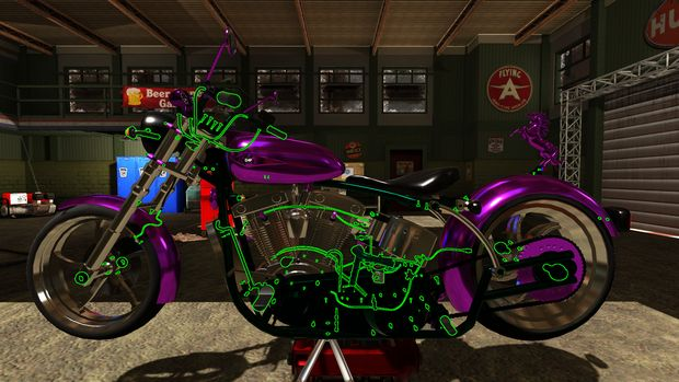 Motorbike Garage Mechanic Simulator Torrent Download