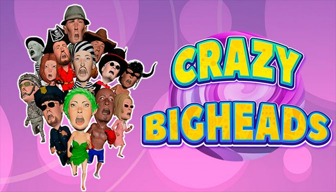 crazyparty_crazy bigheads  is a multiplayer party game.
